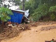 组图:广南省泥石流事故:找到8名遇难者的尸体  仍在搜寻其他45名失踪者