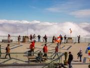组图:来到印度支那屋顶欣赏美不胜收的云海景色