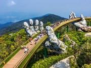 """组图:岘港市金桥被列入""""世界新奇迹""""名单"""
