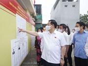 组图:越南国会主席王廷惠视察宣光省换届选举准备工作