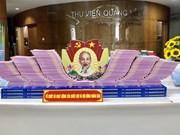"""组图:广宁图书馆开放题为""""全民选举大节日""""的书籍展示厅"""