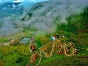 组图:设有15间蒙族同胞背篮型之屋的度假村创越南记录