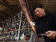 组图:拥有300年历史的福莲传统手工锻造村