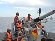 组图:海军二号司令部着力加强海上训练工作
