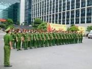 组图:越南公安部增派干部战士前往胡志明市支援防疫工作