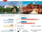 图表新闻:越韩关系在多领域上蓬勃发展
