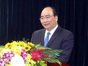 越南政府总理阮春福启程前往瑞士出席世界经济论坛2019年年会