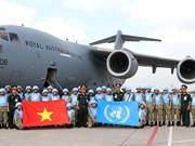 越南为联合国维和行动做出积极且有效贡献(组图)