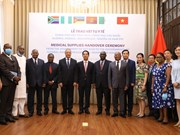 组图:越南向非洲国家提供医疗物资援助