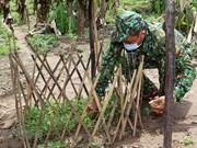 组图:守候在防疫第一线的边防部队