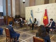 阿根廷国会接收由越南国会赠送的2万只医用口罩