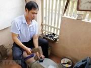 组图:骄箕村金箔制作业——越南独一无二的手工业