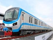 组图:胡志明市城市地铁一号线首列车曝光