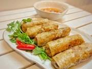 组图:越南春卷:首都河内特色美食菜肴