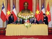 组图:越南智利建交50周年:全面伙伴关系日益向前迈进