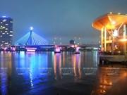 组图:横跨韩江之桥
