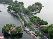 组图:水中仙祠——竹白湖1000年历史的古祠
