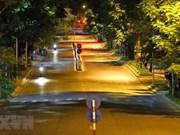 组图:实施社交距离措施期间:河内市宁静平和之美