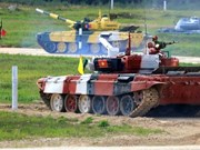 组图:2021年国际军事比赛:越南坦克塞队充满刺激的比赛