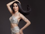 组图:越南佳丽参加2021年万国小姐选美大赛