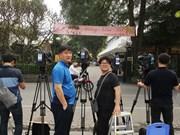 外国记者陆续抵达河内 为报道美朝领导人会晤做准备(组图)