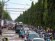 潮汐袭击芹苴市和胡志明市 导致多地淹水(组图)
