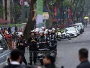 越南为朝鲜最高领导人金正恩一行提供绝对的安全保障(组图)