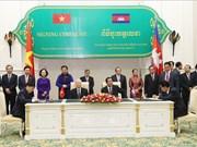 越共中央总书记、国家主席阮富仲对柬埔寨进行国事访问(组图)