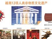 图表新闻:越南12项人类非物质文化遗产