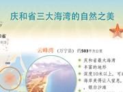 图表新闻:庆和省三大海湾的自然之美