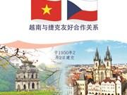 图表新闻:越南与捷克友好合作关系