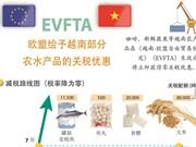 图表新闻:EVFTA--欧盟给予越南部分农水产品的关税优惠