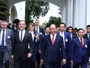 俄罗斯总理梅德韦杰夫访越之旅(组图)