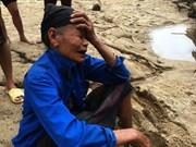 第三号台风袭来  越南北部和北中部多地受灾严重(组图)
