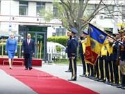罗马尼亚总理登奇勒为越南政府总理阮春福举行欢迎仪式(组图)