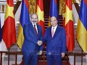 亚美尼亚总理帕希尼扬对越南进行正式访问 (组图)