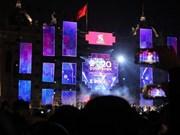 越南各地l陆续举行迎接2020年新年活动(组图)