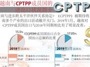 图表新闻: 越南与CPTPP成员国的进出口状况简介