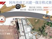 图表新闻: 河内市动工兴建一级方程式赛道