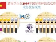 图表新闻:越南学生在2019年国际奥林匹克竞赛取得优异成绩
