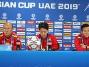 Asian Cup 2019: 主教练朴恒绪称D组小组赛对越南队来说并不容易(组图)