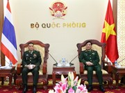 越泰军事和防务合作取得全面进展