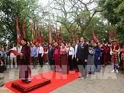 越南国内各地和驻外大使馆纷纷举行2019年雄王国祖祭祖活动(组图)