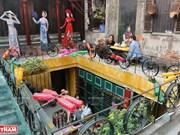 河内再生废料咖啡馆(组图)