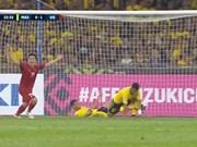 越南队在客场进对方两球   同马来西亚队握手言和