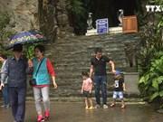 强降雨对岘港市旅游业造成打击