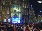 全国人民欢天喜地迎接圣诞