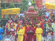 胡志明市举行雄王国祖圆柱形粽子供奉仪式