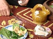 白石灰与越南人送旧迎新的风俗