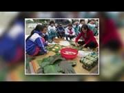 粽子——越南人过春节时必不可少的传统美食